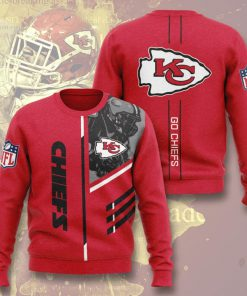 kansas city chiefs go chiefs full printing ugly sweater 3