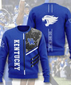 kentucky wildcats go big blue full printing ugly sweater 5