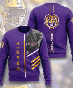 lsu tigers football geaux tigers full printing ugly sweater 4