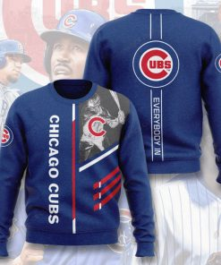 major league baseball chicago cubs everybody in full printing ugly sweater 2