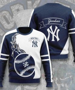 major league baseball new york yankees full printing ugly sweater 2
