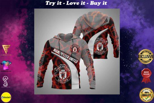 manchester united football club full printing shirt