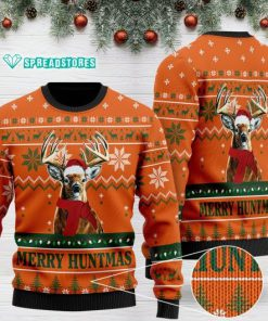 merry huntmas deer hunting full printing christmas ugly sweater 2 - Copy (3)