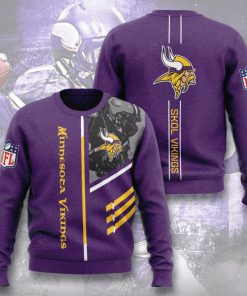 minnesota vikings skol vikings full printing ugly sweater 2