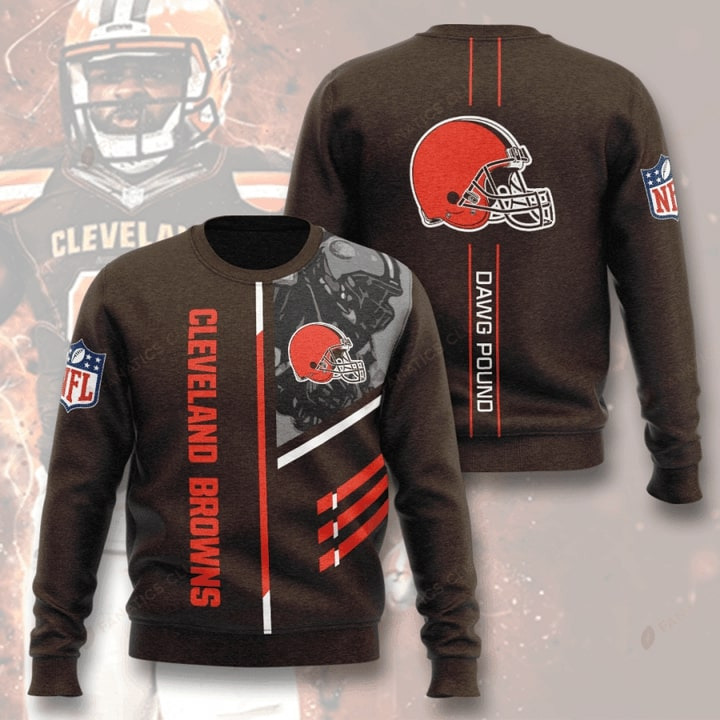 national football league cleveland browns dawg pound full printing ugly sweater 5