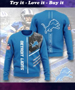 national football league detroit lions restore the roar full printing ugly sweater