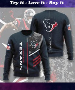 national football league houston texans go texans full printing ugly sweater