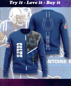 national football league indianapolis colts go colts full printing ugly sweater