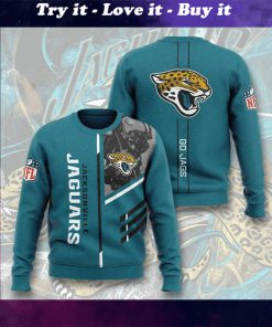 national football league jacksonville jaguars go jags full printing ugly sweater