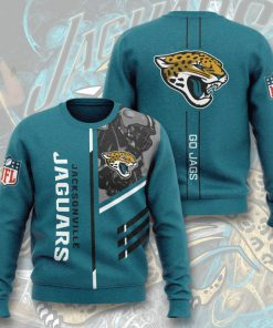 national football league jacksonville jaguars go jags full printing ugly sweater 4