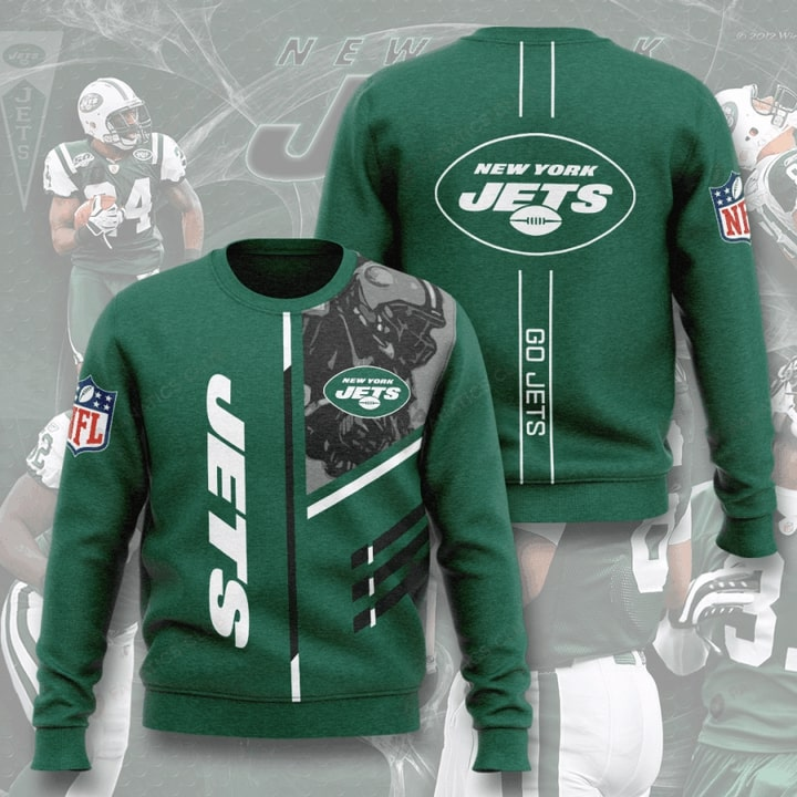 national football league new york jets go jets full printing ugly sweater 2
