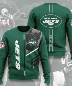 national football league new york jets go jets full printing ugly sweater 3