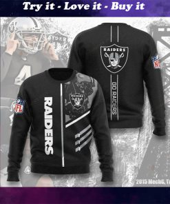 national football league oakland raiders go raiders full printing ugly sweater