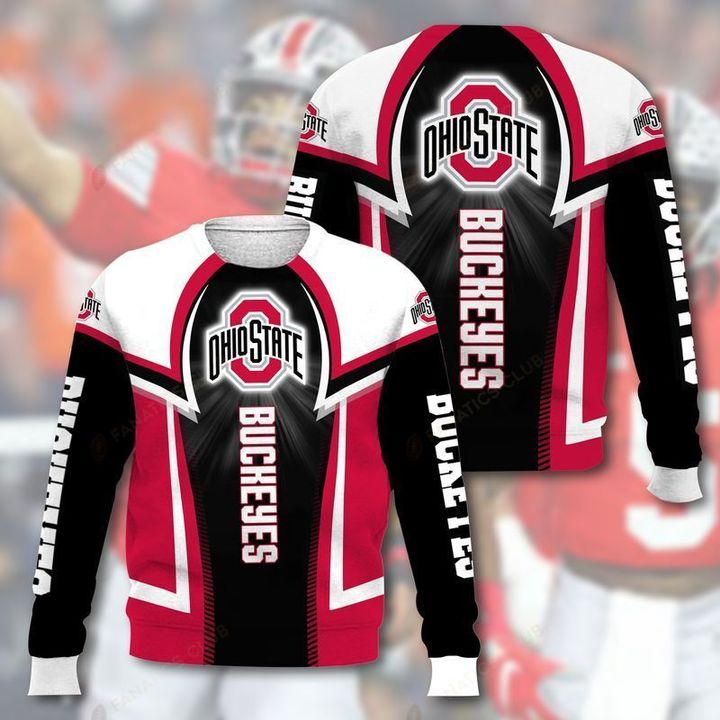 national football league ohio state buckeyes full printing ugly sweater 3