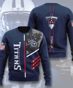 national football league tennessee titans titan up full printing ugly sweater 4