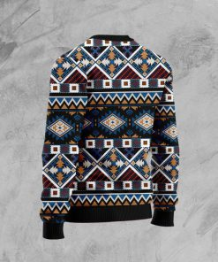 native american horses full printing pattern christmas ugly sweater 5