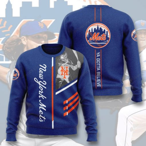 new york mets ya gotta believe full printing ugly sweater 3