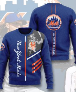 new york mets ya gotta believe full printing ugly sweater 4