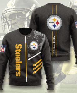 pittsburgh steelers here we go full printing ugly sweater 4