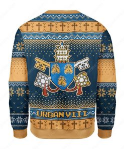 pope urban viii maffeo barberini all over printed ugly christmas sweater 5