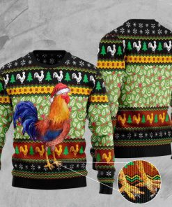 rooster lucky full printing christmas ugly sweater 2 - Copy (3)