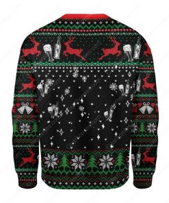 santa claus thor this drink i like it all over printed ugly christmas sweater 4