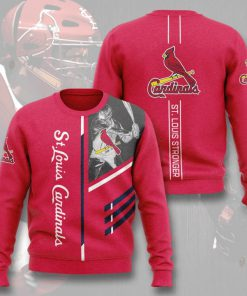 st louis cardinals st louis stronger full printing ugly sweater 3