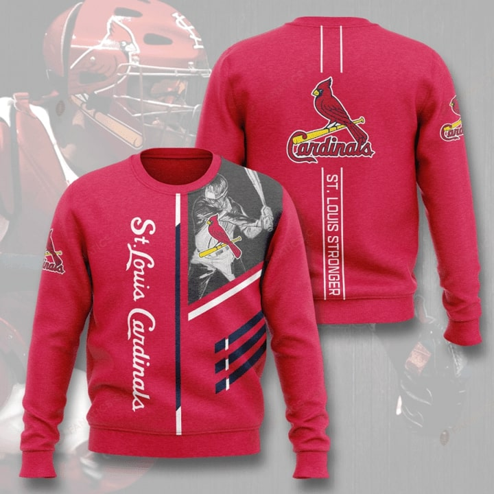 st louis cardinals st louis stronger full printing ugly sweater 4