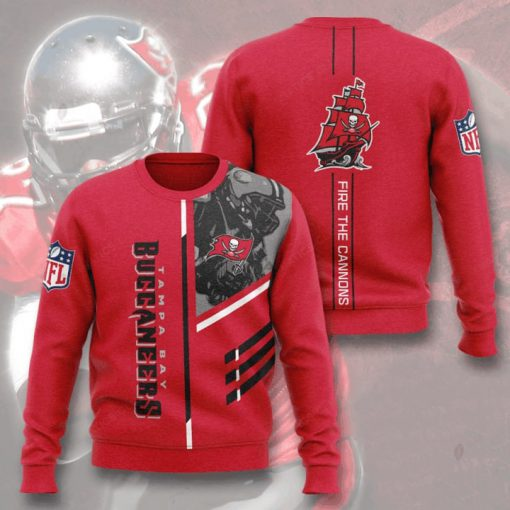 tampa bay buccaneers fire the cannons full printing ugly sweater 2