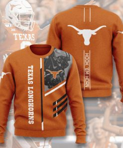 texas longhorns football hook em horn full printing ugly sweater 2