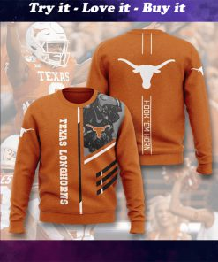 texas longhorns football hook em horn full printing ugly sweater