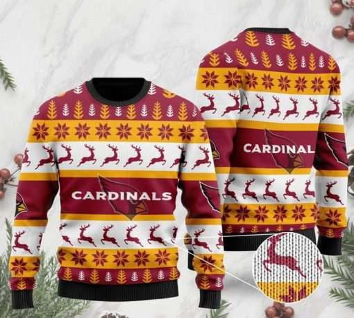 the arizona cardinals football team christmas ugly sweater 2