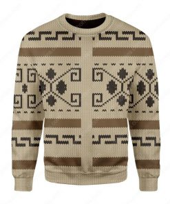 the big lebowski all over printed ugly christmas sweater 3