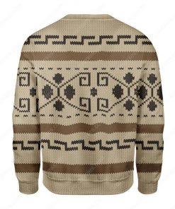 the big lebowski all over printed ugly christmas sweater 4