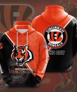the cincinnati bengals football team full printing hoodie 1