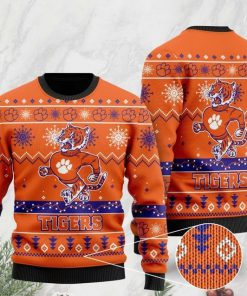the clemson tigers football christmas ugly sweater 2 - Copy