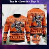 the denver broncos football team christmas ugly sweater