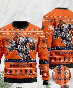 the denver broncos football team christmas ugly sweater 2 - Copy (2)