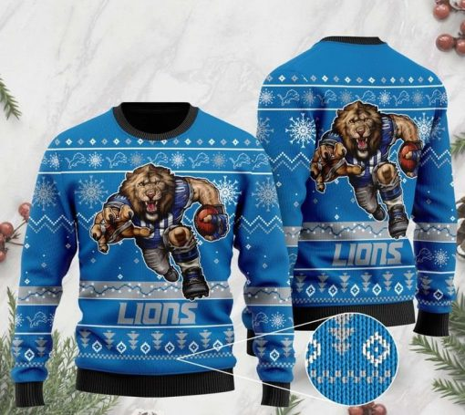 the detroit lions football team christmas ugly sweater 2 - Copy (2)