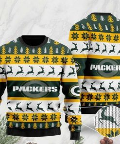 the green bay packers football team christmas ugly sweater 2