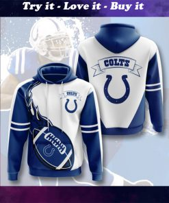 the indianapolis colts football team full printing shirt