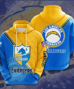 the los angeles chargers football team full printing shirt 2