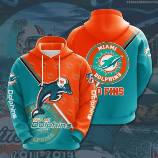 the miami dolphins football team full printing shirt 2
