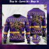 the minnesota vikings football team christmas ugly sweater