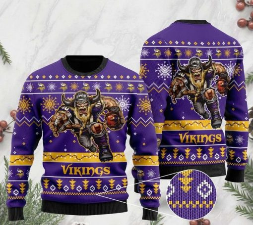 the minnesota vikings football team christmas ugly sweater 2 - Copy