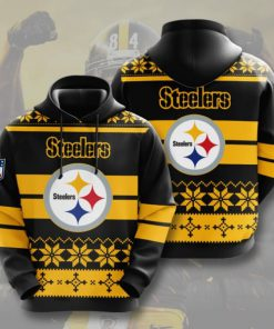 the pittsburgh steelers football team full printing shirt 2