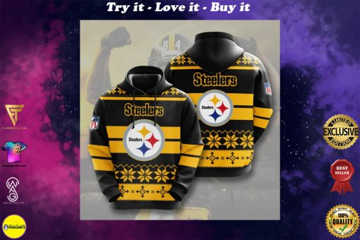 the pittsburgh steelers football team full printing shirt