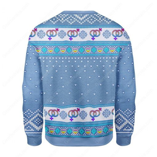 the rock dwayne johnson always be you all over printed ugly christmas sweater 4