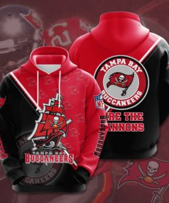 the tampa bay buccaneers football team full printing hoodie