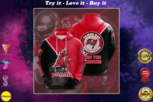 the tampa bay buccaneers football team full printing shirt